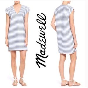 Madewell Vacances Tunic beach Dress cover up blue